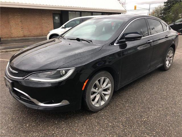 2015 Chrysler 200 C (Stk: 550282T) in Brampton - Image 1 of 6