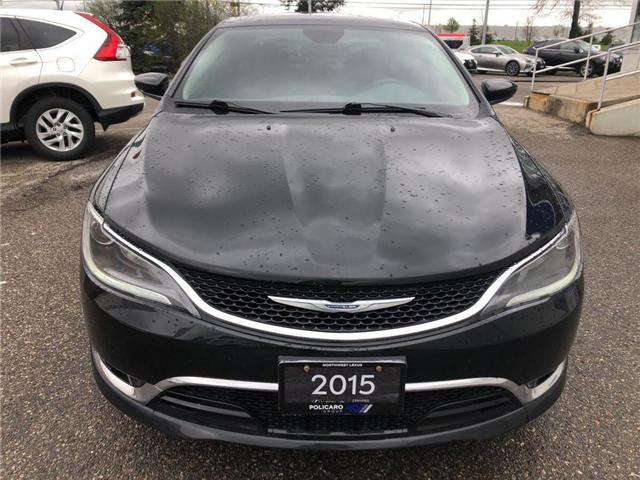 2015 Chrysler 200 C (Stk: 550282T) in Brampton - Image 2 of 6