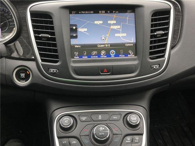 2015 Chrysler 200 C (Stk: 550282T) in Brampton - Image 6 of 6