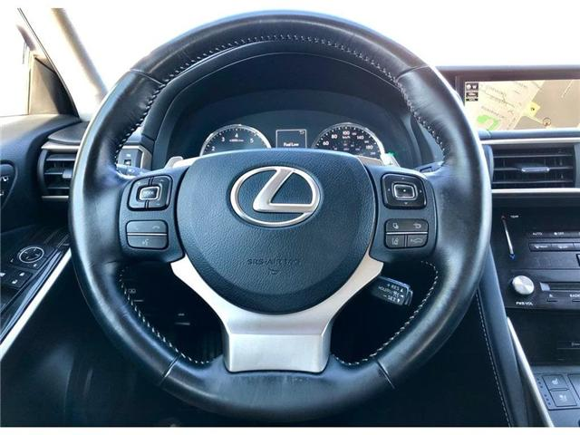 2017 Lexus IS 300 Base (Stk: 015939T) in Brampton - Image 14 of 26