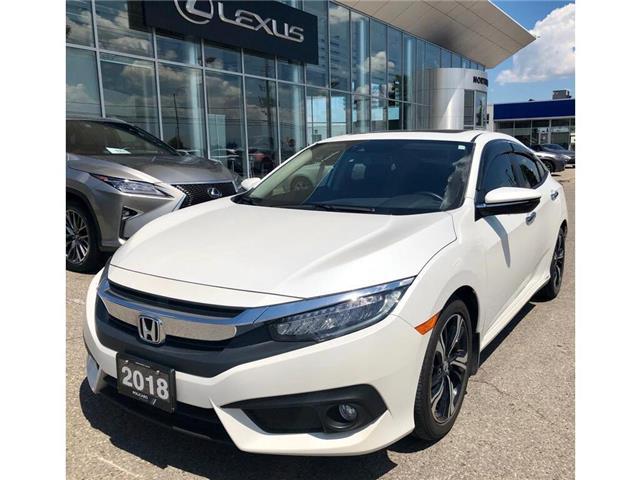 2018 Honda Civic Touring (Stk: 102405T) in Brampton - Image 1 of 13