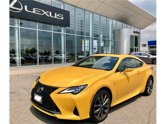 2019 Lexus RC 350 Base (Stk: 9110) in Brampton - Image 1 of 16