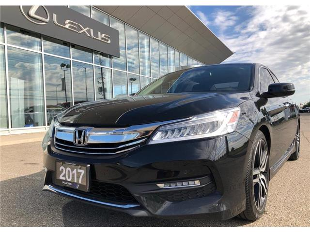 2017 Honda Accord Touring (Stk: 802144T) in Brampton - Image 1 of 22