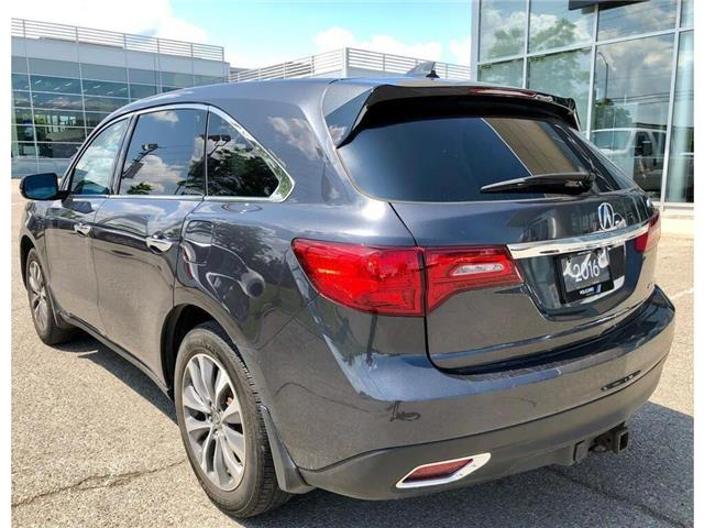 2016 Acura MDX Navigation Package (Stk: 508019T) in Brampton - Image 8 of 14