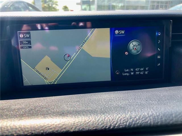 2017 Lexus IS 300 Base (Stk: 021502T) in Brampton - Image 12 of 22