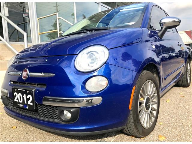 2012 Fiat 500 Lounge (Stk: 113094T) in Brampton - Image 1 of 17