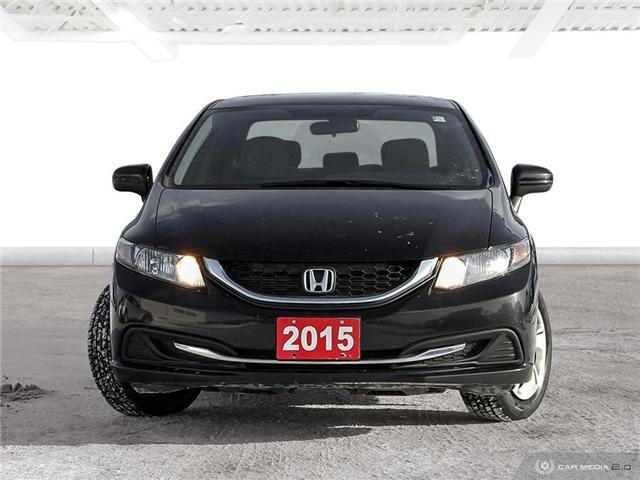 2015 Honda Civic LX (Stk: U5119) in Waterloo - Image 2 of 27