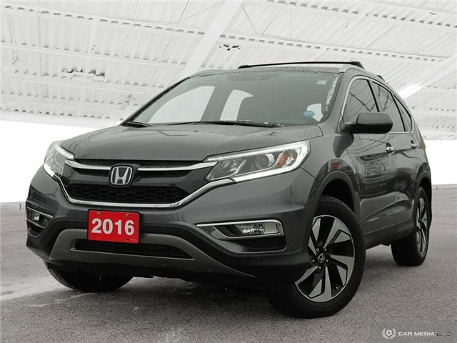 2016 Honda CR-V Touring (Stk: U5037) in Waterloo - Image 1 of 28