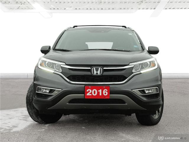 2016 Honda CR-V Touring (Stk: U5037) in Waterloo - Image 2 of 28