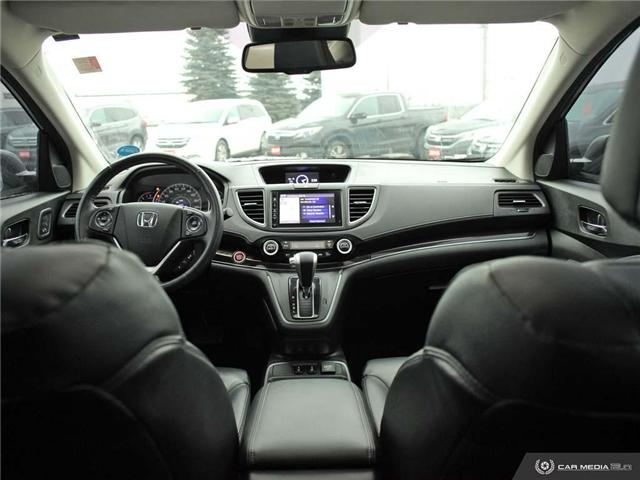 2016 Honda CR-V Touring (Stk: U5037) in Waterloo - Image 19 of 28