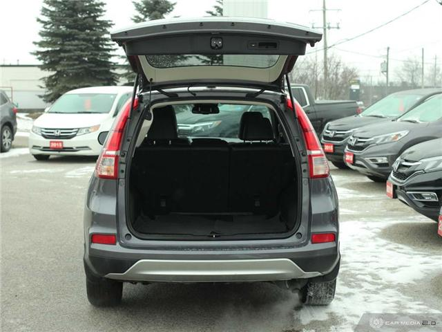 2016 Honda CR-V Touring (Stk: U5037) in Waterloo - Image 20 of 28