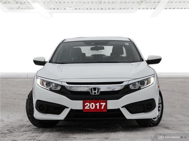 2017 Honda Civic LX (Stk: U4987) in Waterloo - Image 2 of 28