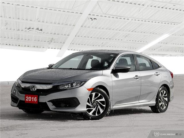 2016 Honda Civic EX (Stk: U5162) in Waterloo - Image 2 of 27