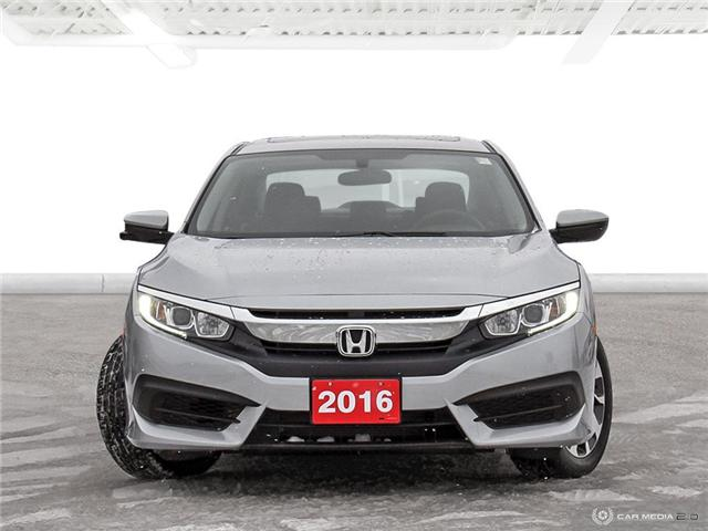 2016 Honda Civic EX (Stk: U5153) in Waterloo - Image 2 of 27