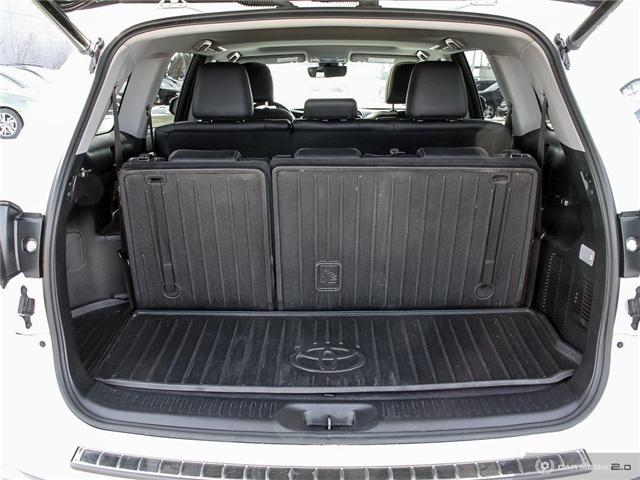 2017 Toyota Highlander XLE (Stk: H5186A) in Waterloo - Image 25 of 27