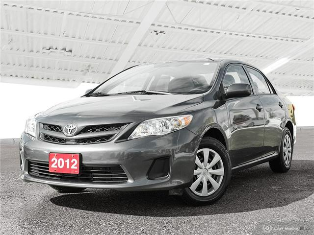2012 Toyota Corolla LE (Stk: H5235A) in Waterloo - Image 1 of 27
