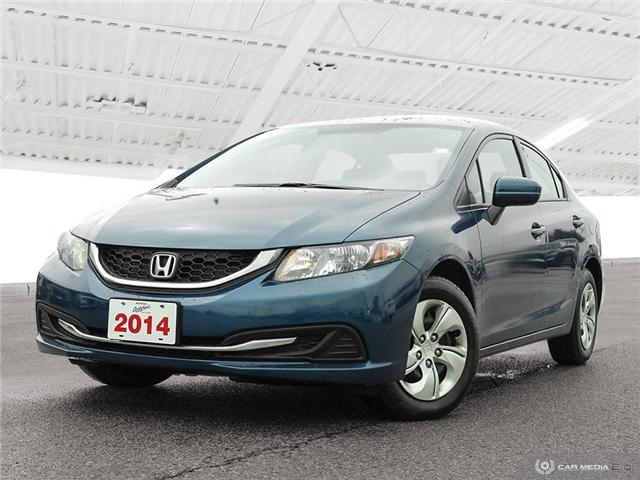 2014 Honda Civic LX (Stk: H5068A) in Waterloo - Image 2 of 27