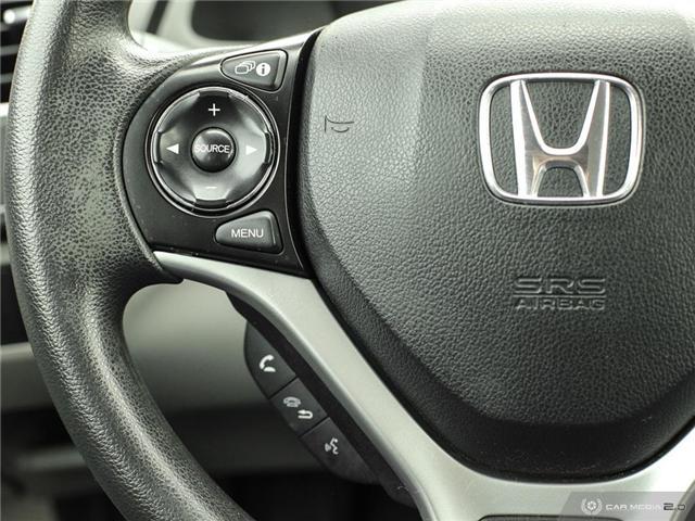 2014 Honda Civic LX (Stk: H5068A) in Waterloo - Image 10 of 27