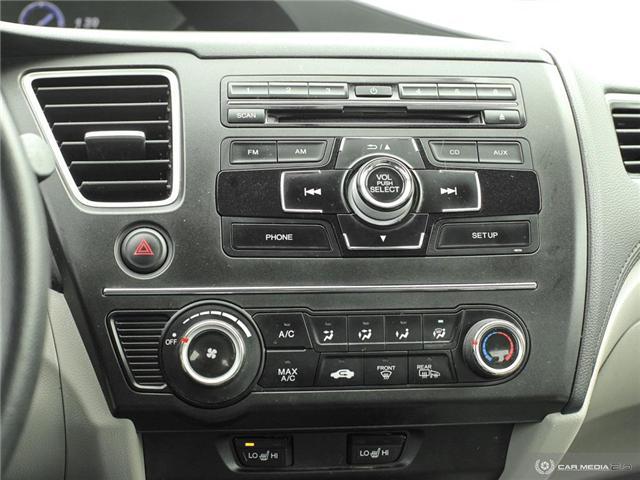 2014 Honda Civic LX (Stk: H5068A) in Waterloo - Image 12 of 27