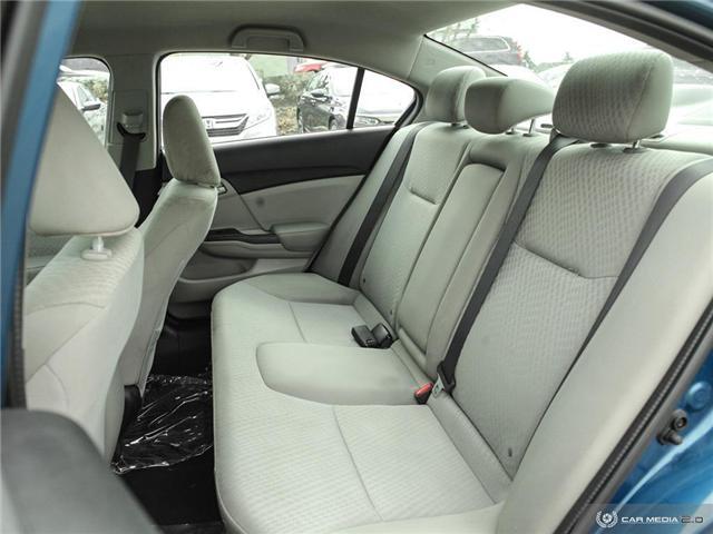 2014 Honda Civic LX (Stk: H5068A) in Waterloo - Image 16 of 27