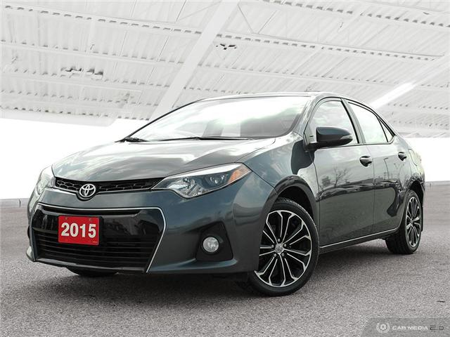 2015 Toyota Corolla S (Stk: U5314) in Waterloo - Image 1 of 27