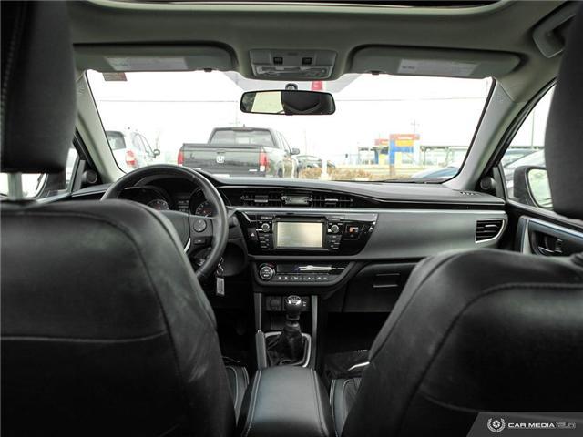 2015 Toyota Corolla S (Stk: U5314) in Waterloo - Image 17 of 27