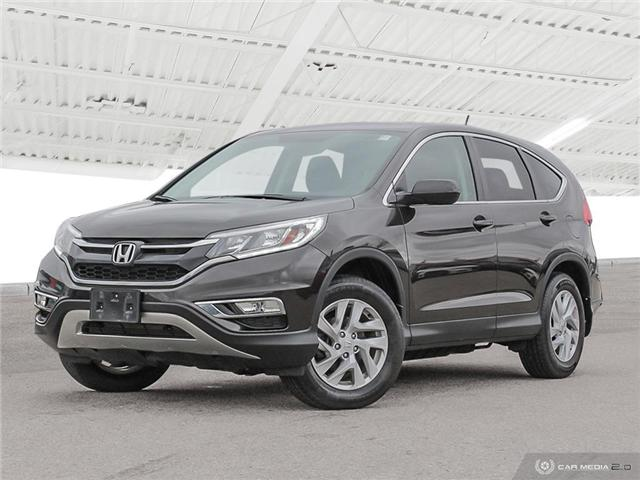2015 Honda CR-V EX (Stk: U5384) in Waterloo - Image 1 of 27