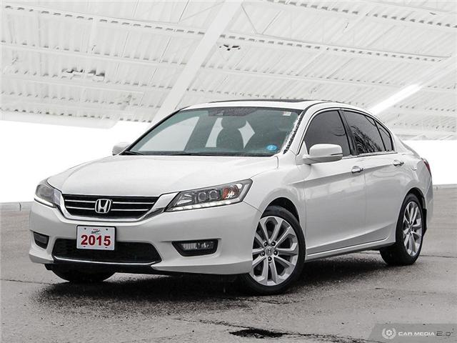 2015 Honda Accord Touring V6 (Stk: H5374A) in Waterloo - Image 1 of 27