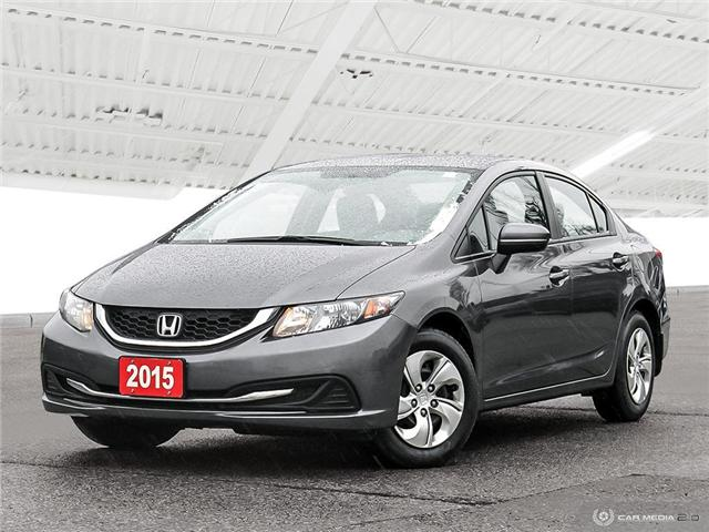 2015 Honda Civic LX (Stk: U5381) in Waterloo - Image 1 of 27