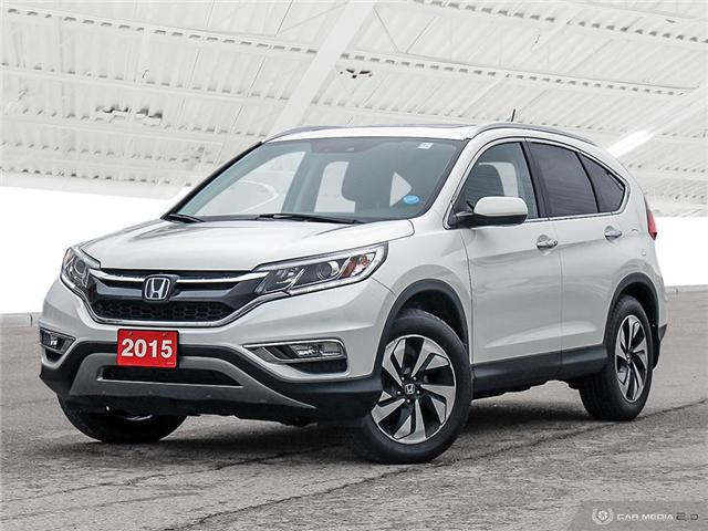 2015 Honda CR-V Touring (Stk: U5132) in Waterloo - Image 1 of 27
