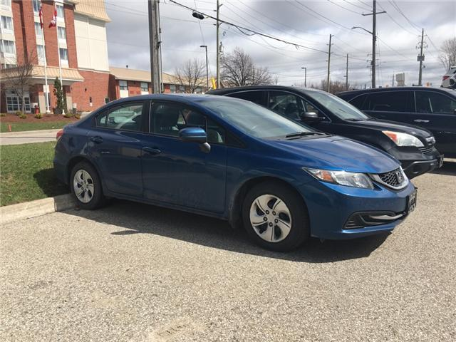 2015 Honda Civic LX (Stk: H5058A) in Waterloo - Image 1 of 3