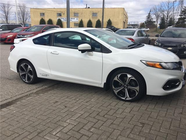 2015 Honda Civic Si (Stk: H5013A) in Waterloo - Image 1 of 3