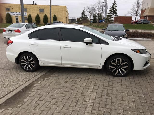 2014 Honda Civic Touring (Stk: H5158A) in Waterloo - Image 2 of 3