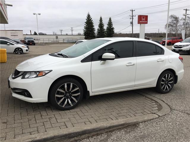 2014 Honda Civic Touring (Stk: H5158A) in Waterloo - Image 1 of 3