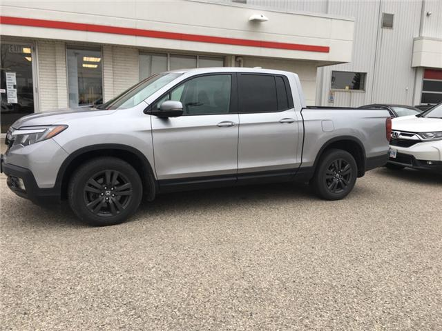2017 Honda Ridgeline Sport (Stk: U5568) in Waterloo - Image 1 of 3
