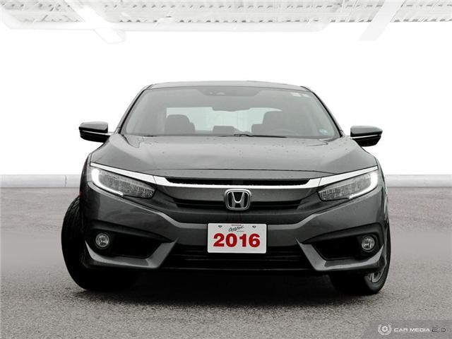 2016 Honda Civic Touring (Stk: U5401) in Waterloo - Image 2 of 27