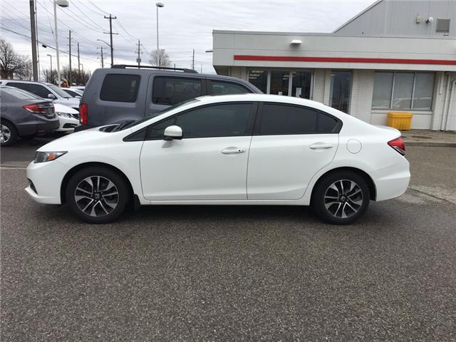 2015 Honda Civic EX (Stk: H5564A) in Waterloo - Image 1 of 3