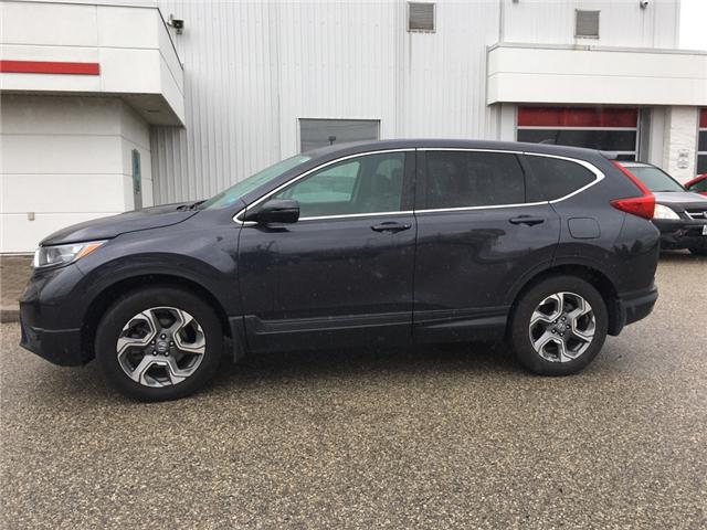2017 Honda CR-V EX-L (Stk: U5634) in Waterloo - Image 1 of 2