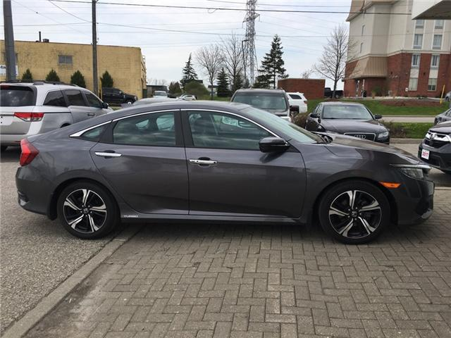 2016 Honda Civic Touring (Stk: H5412A) in Waterloo - Image 2 of 3