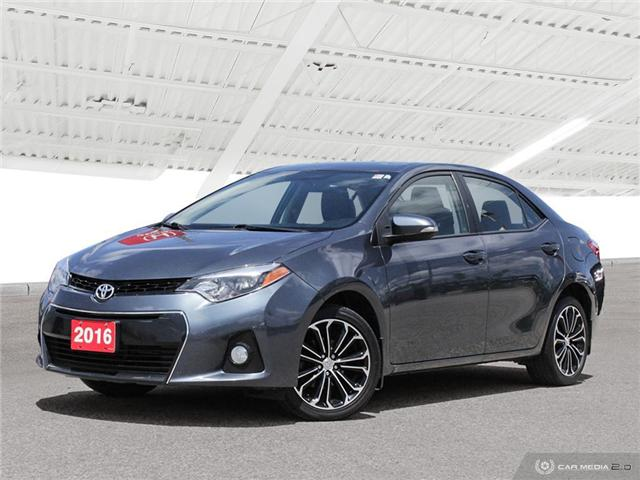2016 Toyota Corolla S (Stk: H5195A) in Waterloo - Image 2 of 27