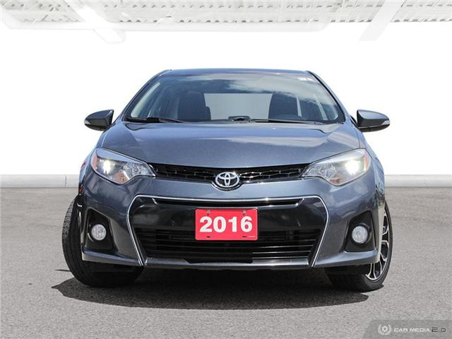 2016 Toyota Corolla S (Stk: H5195A) in Waterloo - Image 3 of 27