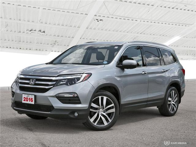 2016 Honda Pilot Touring (Stk: H5618A) in Waterloo - Image 1 of 27