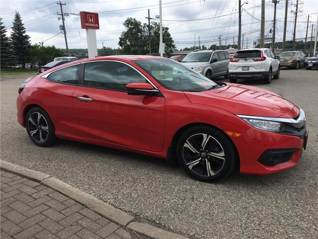 2016 Honda Civic Touring (Stk: H5663A) in Waterloo - Image 2 of 3