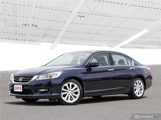2015 Honda Accord Touring V6 (Stk: U5745) in Waterloo - Image 1 of 27
