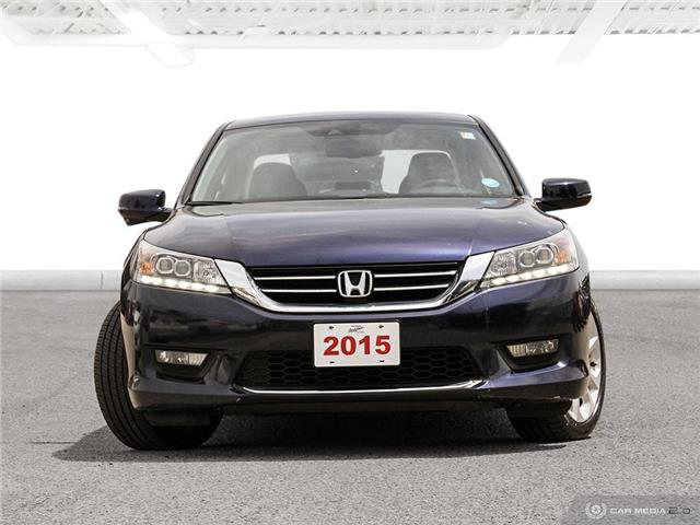 2015 Honda Accord Touring V6 (Stk: U5745) in Waterloo - Image 2 of 27