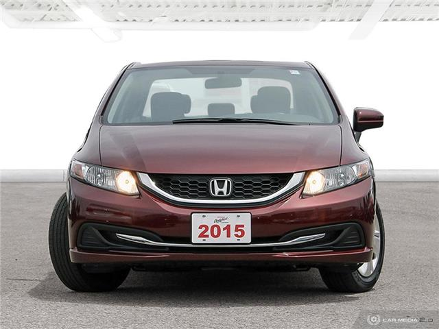 2015 Honda Civic LX (Stk: U5782) in Waterloo - Image 2 of 27