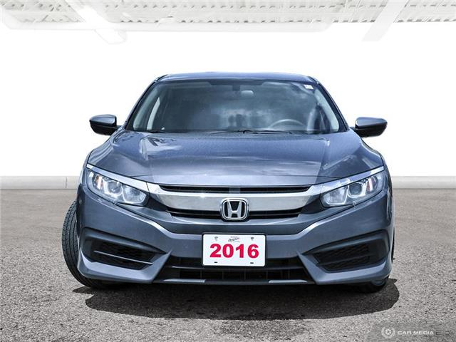 2016 Honda Civic LX (Stk: U5807) in Waterloo - Image 2 of 27