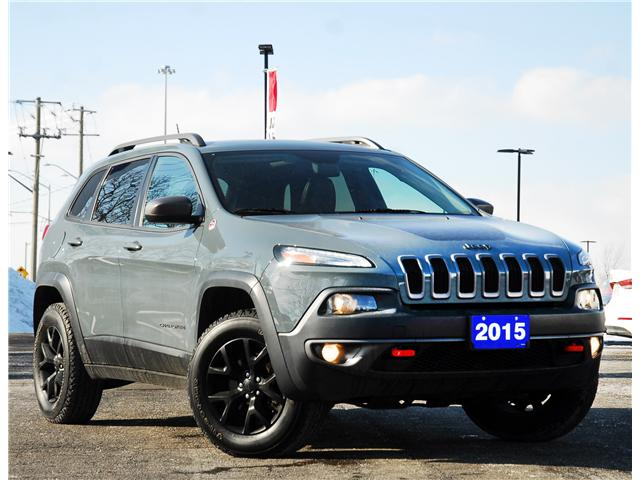 2015 Jeep Cherokee Trailhawk (Stk: 58615A) in Kitchener - Image 1 of 17