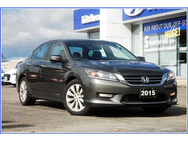 2015 Honda Accord EX-L (Stk: OP3810) in Kitchener - Image 1 of 12