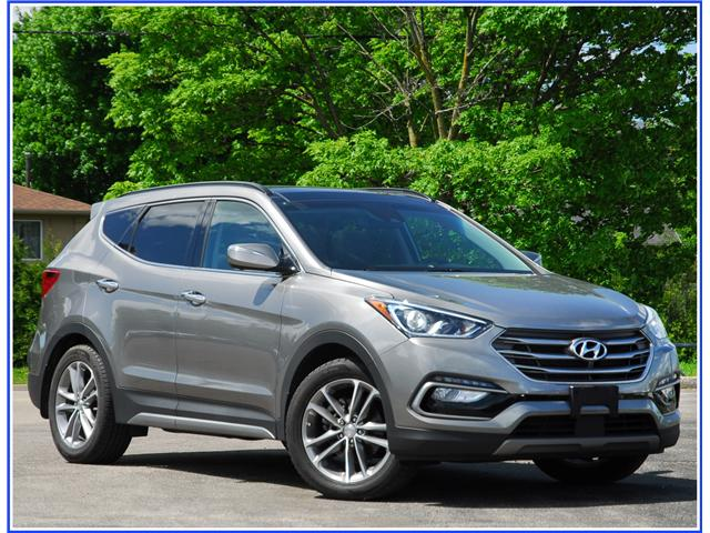 2017 Hyundai Santa Fe Sport 2.0T Ultimate (Stk: OP3873) in Kitchener - Image 1 of 15